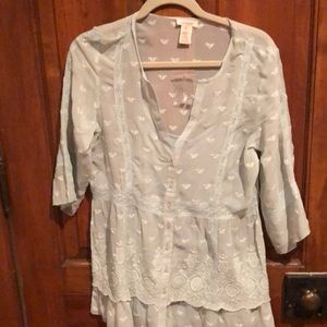 New with tags Sundance mint green top